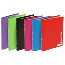 Colourhide Blue 20 Pocket Refillable Display Book