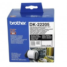 Brother DK-22205 White Continuous Length Label Paper