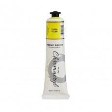 Chromacryl Student Acrylic Paint 75ml Fluro Yellow