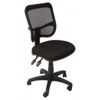 EM300 Mesh Back Operator Chair Black