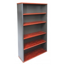 Rapid Manager Bookcase 1800mm Appletree/Ironstone