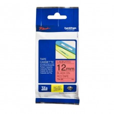 Brother TZ-431 Laminated Tape 12mm Black On Red