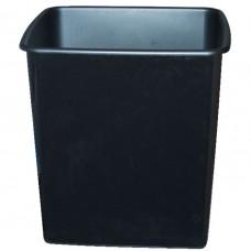 Italplast Fire Retardant Waste Paper Bin 15l - Black