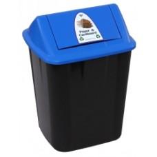 Italplast 32 Litre Co-Mingle Waste Separation Bin