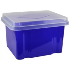Italplast 32L Purple Storage Box With Lid