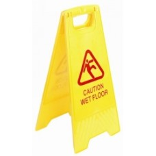 Italplast Yellow Wet Floor Sign