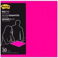 Post It Bright Pink Big Notes Pad 381 x 381mm 30 Sheets