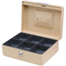 Esselte Classic Cash Box No. 8 Beige