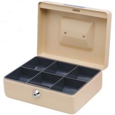 Esselte Classic Cash Box No. 8 Beige