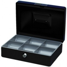 Italplast Deluxe Cash Box No 8 Black