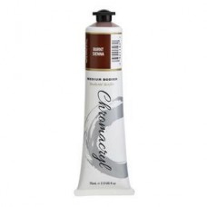 Chromacryl Student Acrylic Paint 75ml Burnt Sienna
