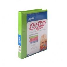 Bantex A4 2D 25mm Gummy Bear Green Lolly Shop Insert Binder