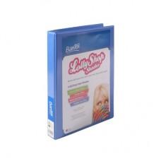 Bantex A4 2D 25mm Bubble Gum Blue Lolly Shop Insert Binder
