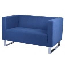 Rapidline Enterprise 2 Seat Lounge Chair Blue