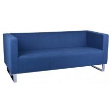 Rapidline Enterprise 3 Seat Lounge Chair Blue