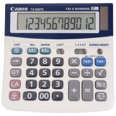 Canon TX-220TS 12 Digit Desktop Calculator