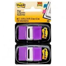 Post It Flag Purple Twin Pack