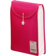 Barkode Top Load Attache File A4 Pink