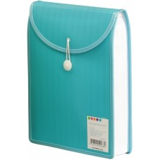 Barkode Top Load Attache File A4 Aqua