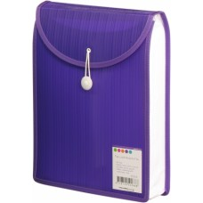 Barkode Top Load Attache File A4 Violet