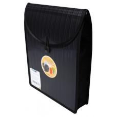 Barkode Top Load Attache File A4 Black
