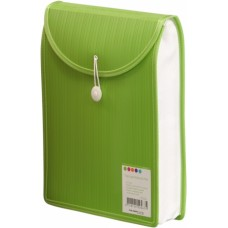 Barkode Top Load Attache File A4 Green