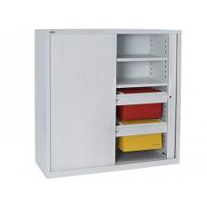 Go Tambour 1200mm x 900mm Cupboard + 2 Shelves