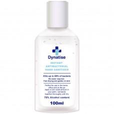 Dynatise Hand Sanitiser Gel 100ml Bottle Box 48