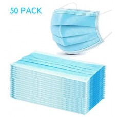 Disposable 3 Ply Face Mask Box 50