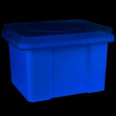 Italplast 32L Blueberry Storage Box with Lid