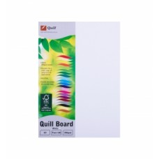 Quill A4 210gsm White Pasteboard Pkt 100