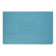 Bantex Light Blue Document Wallet 230gsm Board