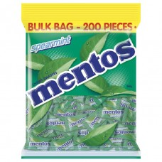 Mento Spearmint Individual Wrapped 200 Pack
