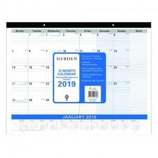 Collins Debden 2020 Desk Pad Planner Refill