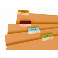 3L Index Tabs 25mm Assorted Colour