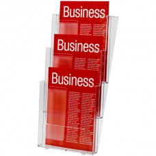 Esselte A4 3 Tier Wall Mounted Brochure Holder