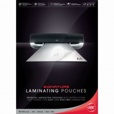 GBC A4 80 Micron Lamination Pouches Pkt 100