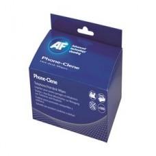 AF Phone-Clene Wipes Sachets Box 100