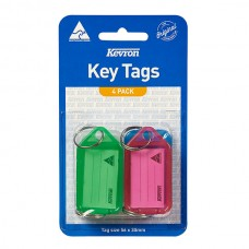 Kevron ID5 Key Tag 4 Pack
