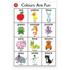Learning Can Be Fun - Colours Are Fun