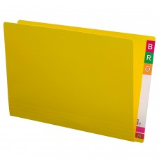 Avery Extra Heavy Duty Lateral File Foolscap Yellow Box 100