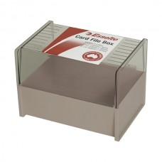 Esselte Card Box 102 x 152 mm Dove Grey