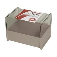 Esselte Card Box 102 x 152 mm Dove Grey