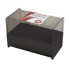 Esselte Card Box 127 x 203mm Charcoal