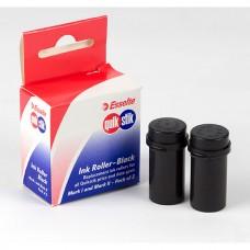 Quickstik Ink Rollers Black Pkt 2