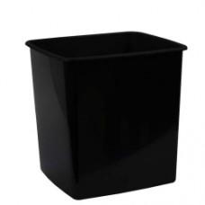 Italplast Waste Paper Bin 15L Black