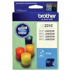 Brother LC-231 Cyan Ink Cartridge
