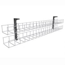 Rapid Line Dual Tier Cable Basket - 1250mm