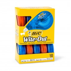 Bic Wite-out Correction Tape Pkt 10