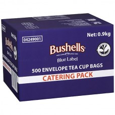 Bushells Blue Label Envelope Tea Bags Box 500